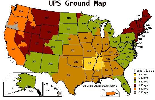 UPS Map-1