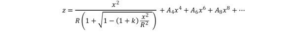 General Asphere Equation